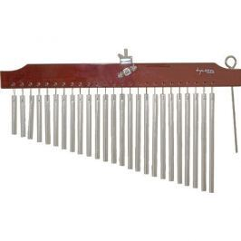 Tycoon 36 Chrome Chimes With Brown Finish Bar
