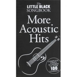 Music Sales The Little Black Songbook: More Acoustic Hits