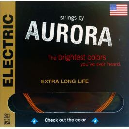 Aurora Premium Electric Guitar Strings Light 09-42 Purple