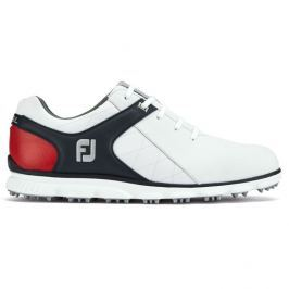 Footjoy Pro Sl White/Black/Red Boa Mens US10.0