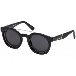 Diesel DL0251 01A 49 Shiny Black /Smoke
